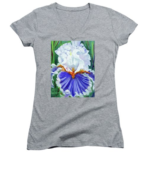 Iris Wisdom Women's V-Neck T-Shirt