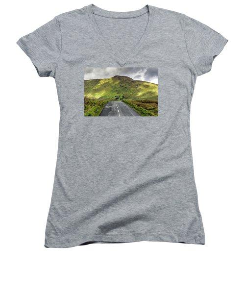 Irish Highway Women's V-Neck (Athletic Fit)