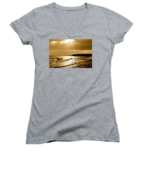 Irish Sea Women's V-Neck (Athletic Fit)