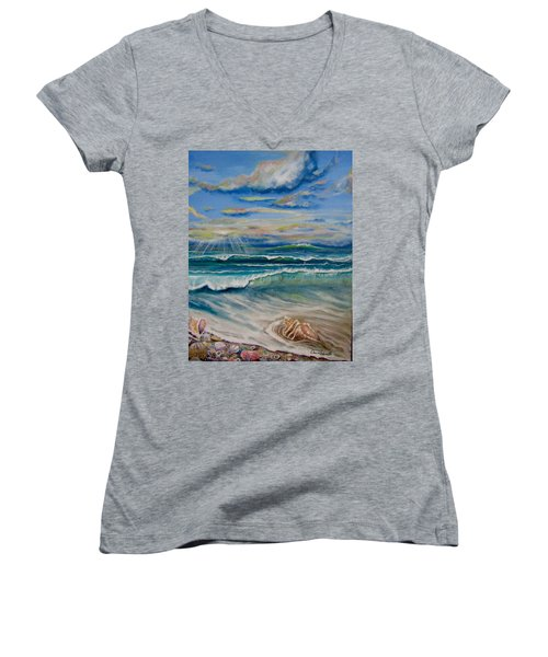 Irma's Treasure Women's V-Neck T-Shirt