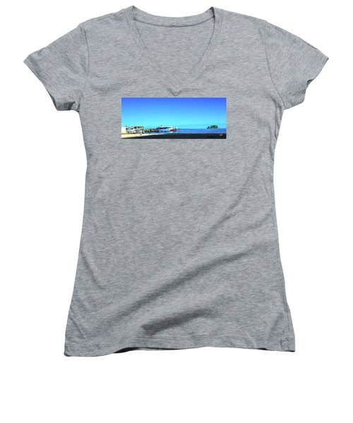 Island Dock Women's V-Neck T-Shirt