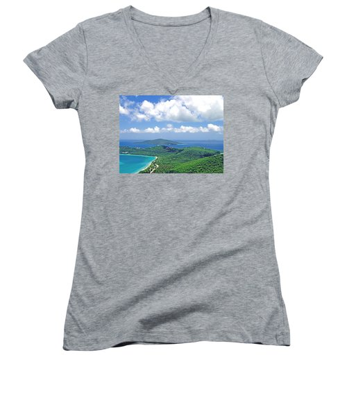 Island Paradise Women's V-Neck