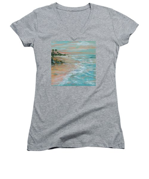Island Romance Women's V-Neck T-Shirt