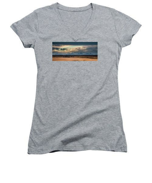 Islands In The Sky Women's V-Neck T-Shirt