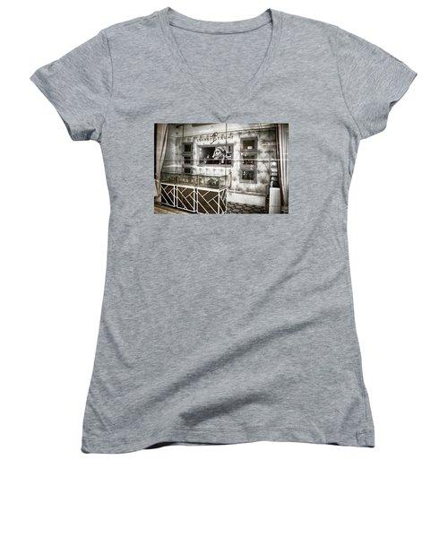 Ivanka Trump Store Women's V-Neck T-Shirt (Junior Cut) by Dyle Warren