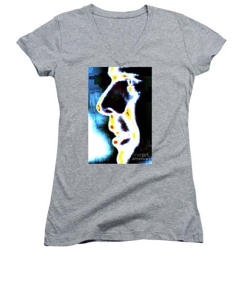 I've Seen The Light Women's V-Neck T-Shirt