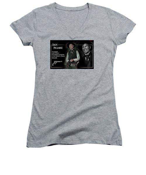 Jack  Palance Women's V-Neck