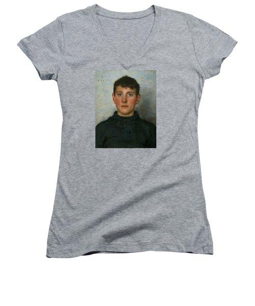 Jack Rolling Women's V-Neck T-Shirt