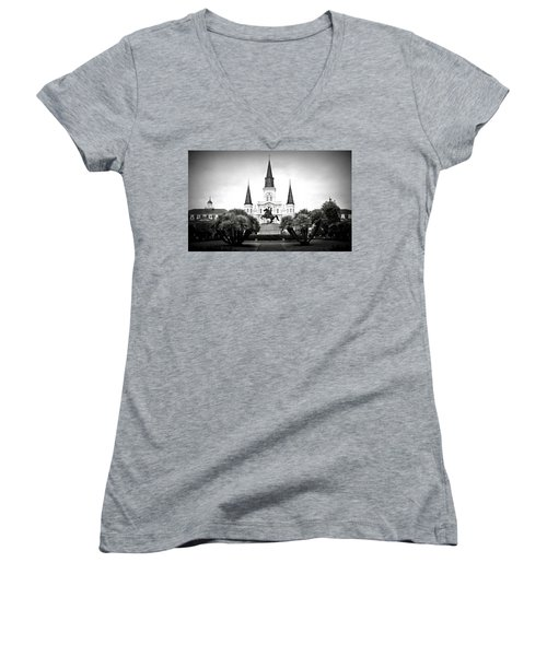 Jackson Square 2 Women's V-Neck T-Shirt