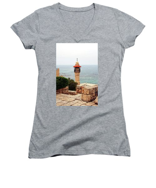 Jaffa Israel Women's V-Neck T-Shirt