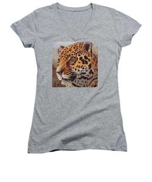 Jaguar Women's V-Neck (Athletic Fit)