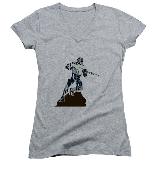 Jake Nomad Dunn Women's V-Neck T-Shirt
