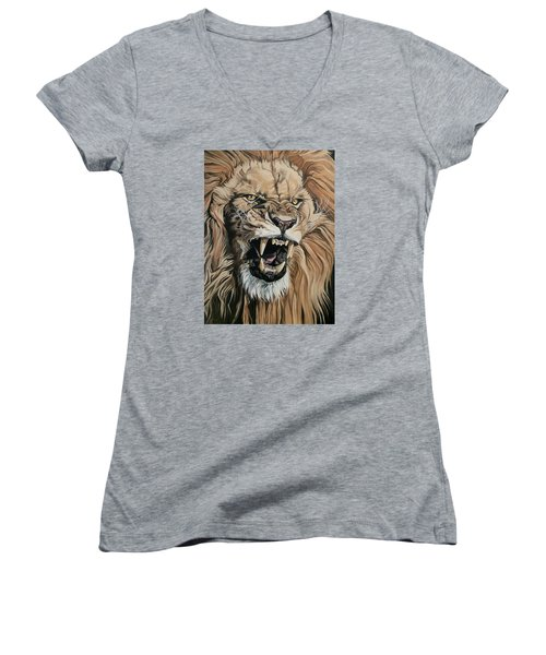 Jealous Roar Women's V-Neck