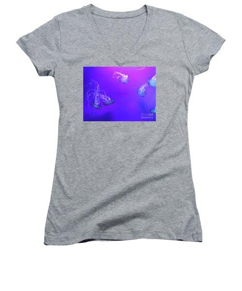 Jellyfish 1 Women's V-Neck