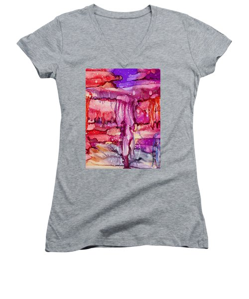Jellyfish Women's V-Neck (Athletic Fit)
