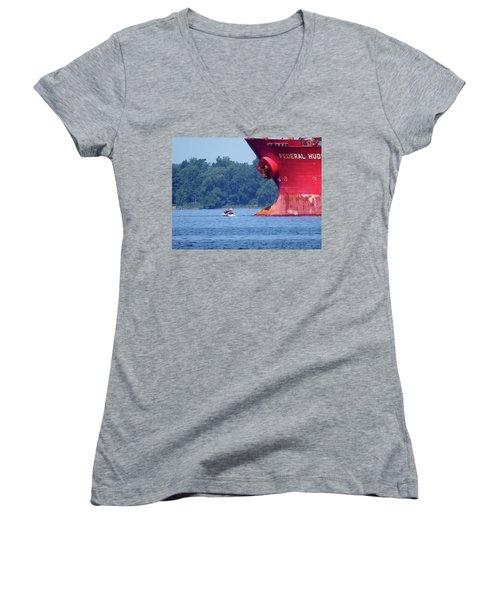 Jet Ski Women's V-Neck T-Shirt