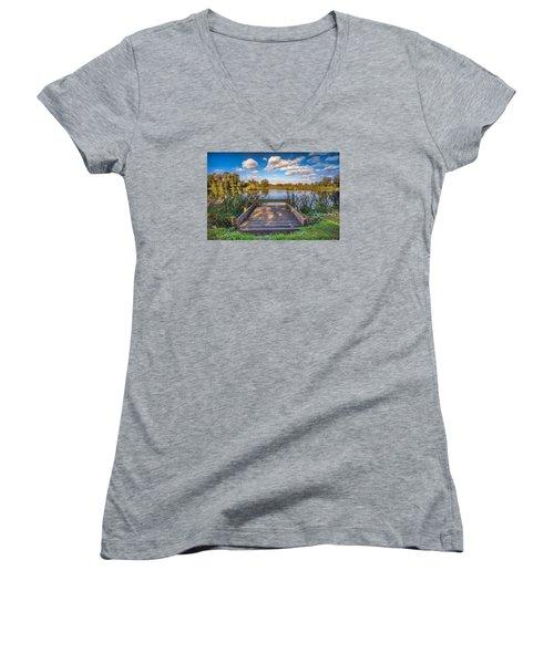 Jetty Women's V-Neck T-Shirt