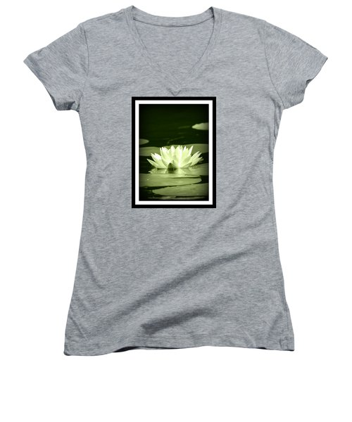 Jewel Of The Pond Women's V-Neck (Athletic Fit)