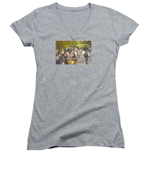 Jidai Matsuri Xxi Women's V-Neck T-Shirt
