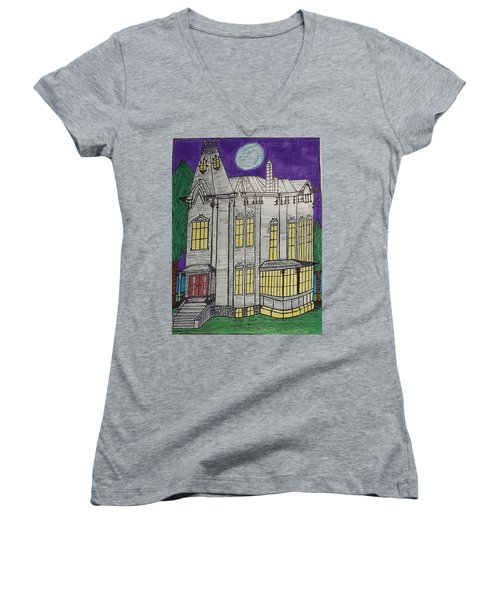 John Henes Home. Women's V-Neck T-Shirt