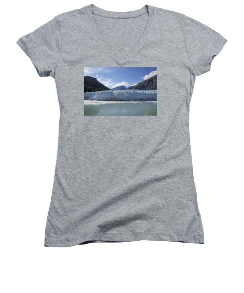 John Hopkins Glacier 14 Women's V-Neck (Athletic Fit)