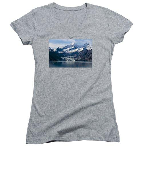 John Hopkins Glacier 3 Women's V-Neck (Athletic Fit)