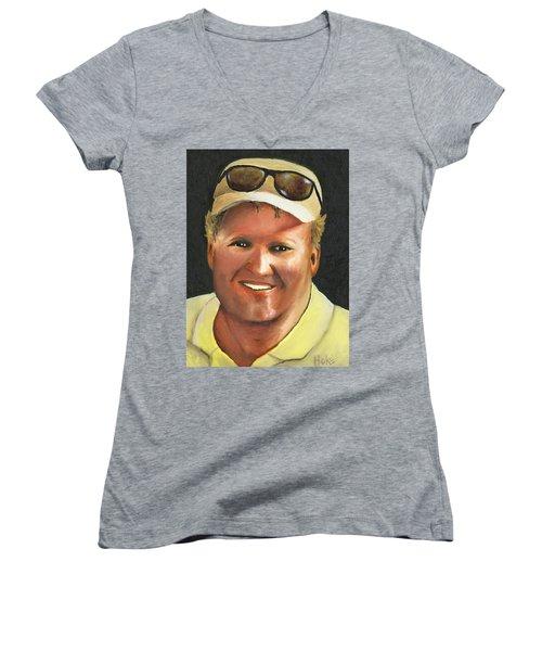 John Women's V-Neck T-Shirt