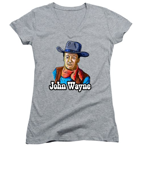 John Wayne Women's V-Neck (Athletic Fit)