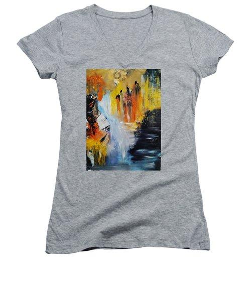 Jordan River Women's V-Neck T-Shirt