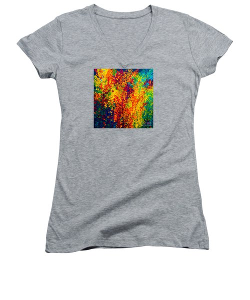 Joseph's Coat Trees Women's V-Neck T-Shirt