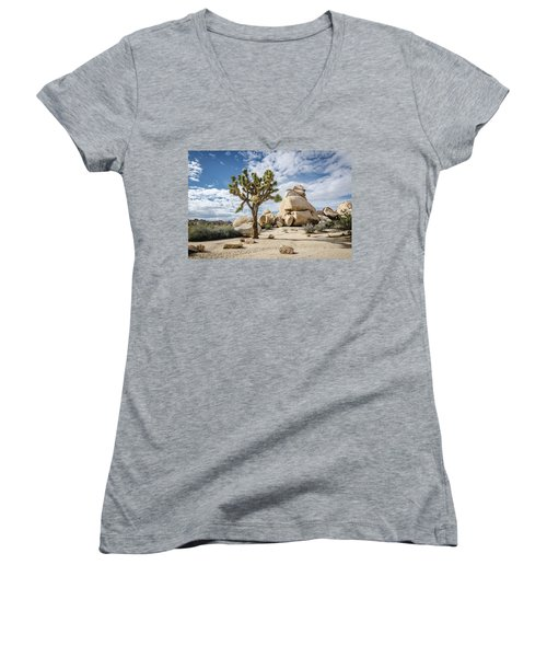 Joshua Tree No.2 Women's V-Neck (Athletic Fit)