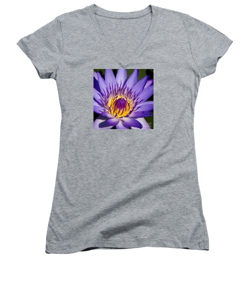 Journey Into The Heart Of Love Women's V-Neck (Athletic Fit)
