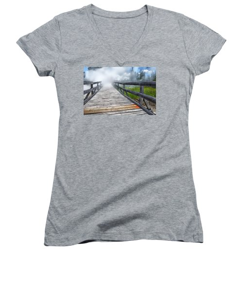 Journey Into The Unknown Women's V-Neck