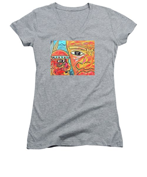 Journeys Ahead Women's V-Neck