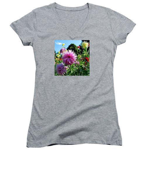 Joy Is In The Air  Women's V-Neck (Athletic Fit)