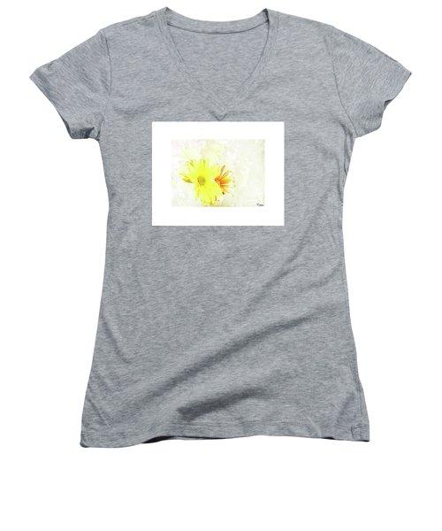 Joy Women's V-Neck T-Shirt (Junior Cut)