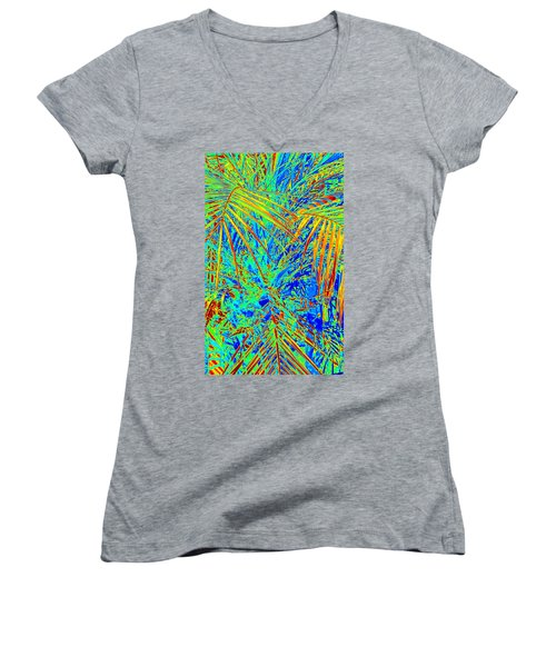 Jungle Vibe Women's V-Neck