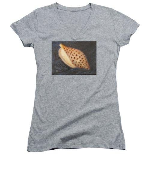 Junonia Women's V-Neck T-Shirt (Junior Cut) by Donelli  DiMaria