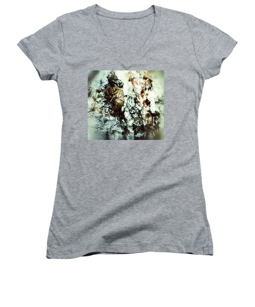 Women's V-Neck featuring the photograph Just A Shell by Robert Knight