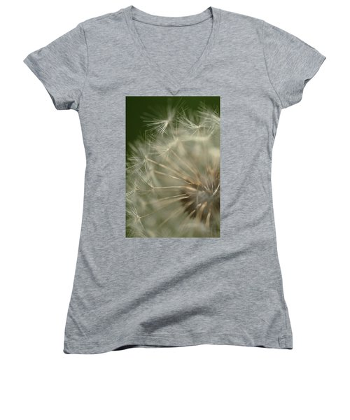 Just A Weed Women's V-Neck T-Shirt