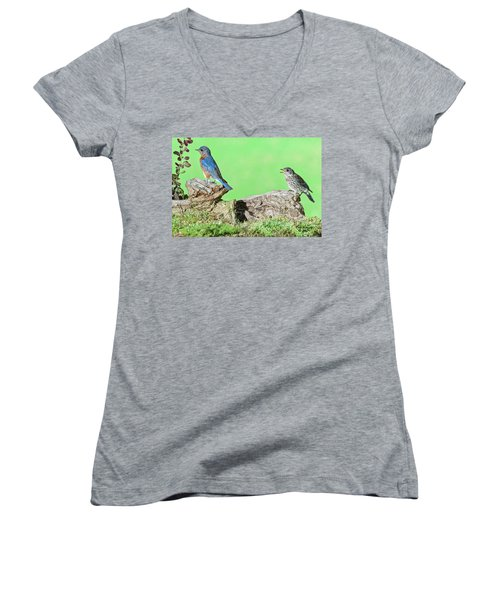 Just One More Worm Women's V-Neck (Athletic Fit)