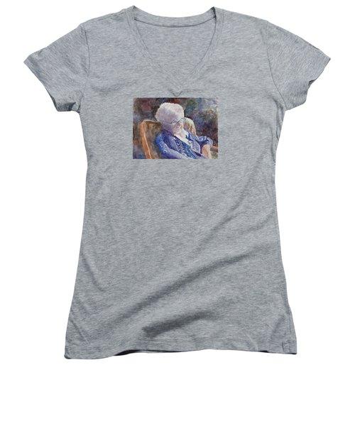 Just Resting My Eyes Women's V-Neck T-Shirt