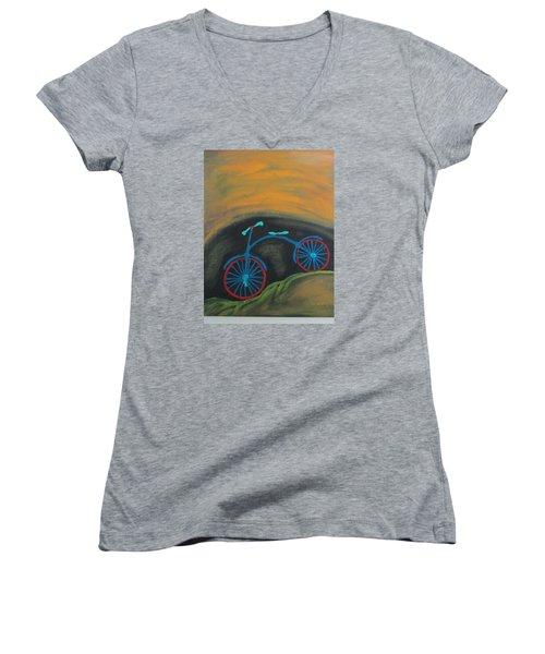 Just Roamin Women's V-Neck T-Shirt (Junior Cut)