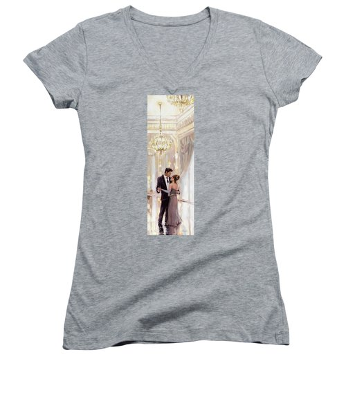 Just The Two Of Us Women's V-Neck