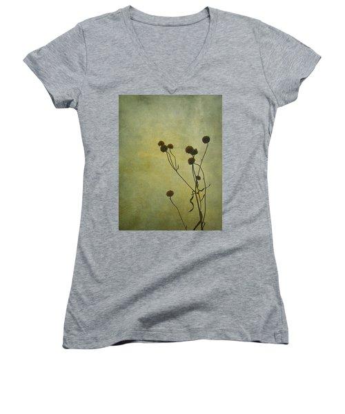 Just Weeds . . . Women's V-Neck T-Shirt