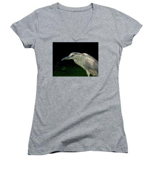 Juvey Women's V-Neck T-Shirt (Junior Cut) by Kimo Fernandez