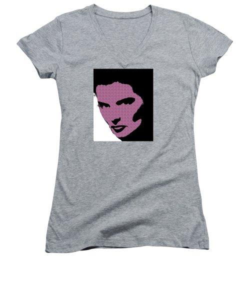 Katharine Hepburn Women's V-Neck