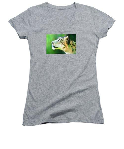 Katso Valo Women's V-Neck T-Shirt (Junior Cut) by Greg Collins
