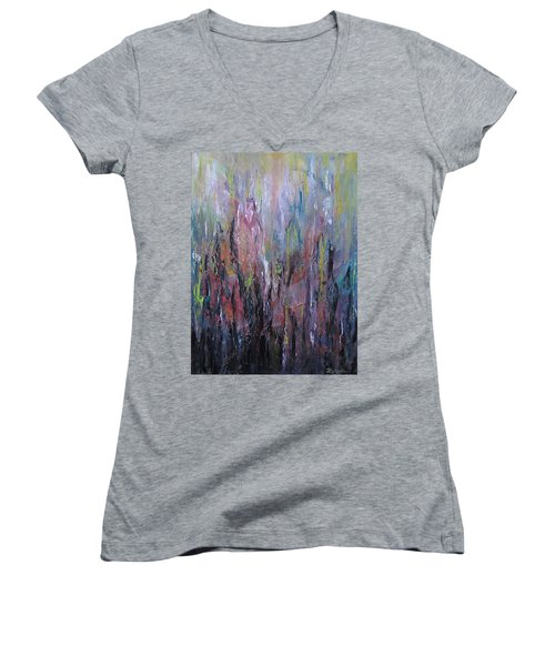 Keeping Pace Women's V-Neck T-Shirt