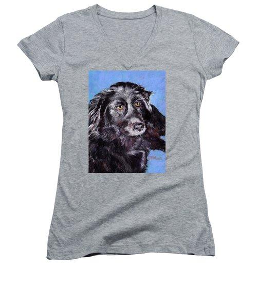 Keiko Women's V-Neck T-Shirt